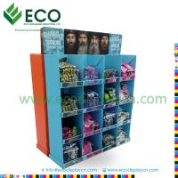 Quality Shenzhen ECO Strong T-shirt Display Rack with Corrugated Material, T-shirt Cardboard Display for sale