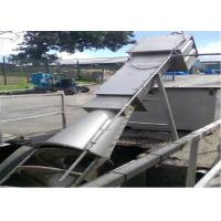 Quality Paper Mills Biological Spiral Screen , Wastewater Screening Equipment Compact Design for sale