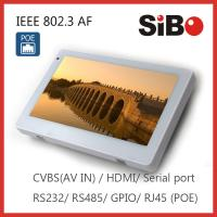 Best Customized Wall Mounted 7 Inch Android 4.4.4 OS Touch Panel For Time Attendant Control wholesale