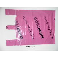 Quality Plastic Recycled Custom Printed Shopping Bags For Garment / Uderwear for sale