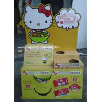 Best Hello Kitty Cardboard Pallet Display with customized holes / prmotional floor display stand wholesale