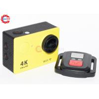 Quality OEM EH9R 2.0 LCD Wifi Action Camera Ultra HD Self - Timer Muitl Colours 1050mah for sale