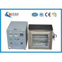 Quality 38 MM Flame Height Flammability Testing Equipment For Automobile Interior Material for sale