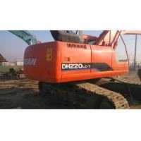 Quality $40000 Good used excavator machine DOOSAN DH220LC-7 2009 made, original paint for sale