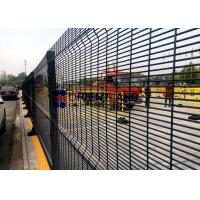 Quality Plastic Coated 358 Wire Mesh Security Fencing For PRISON 900-2500mm Height for sale