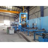 Quality 1.5M Stable Hydraulic H Beam Welding Machine  Automatic Centering For Fit Up Beams for sale