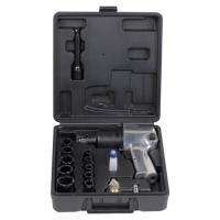 China 16PCS 1/2'' 650N.m Twin Hammer AIR IMPACT WRENCH KIT for Garage Use. on sale