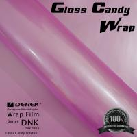 Quality Gloss Candy Lipstick Pink Vinyl Wrap Film - Gloss Lipstick Pink for sale