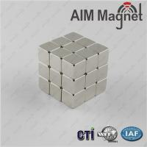 China 5x5x5mm Nicuni plated strong led, flashlights neodymium magnety on sale