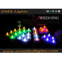 Quality Wedding Decoration Rechargeable Led Candles , Wax Electronic Candles for sale