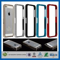 Quality Aluminum Metal Slide-On Frame Bumper Apple Cell Phone Cases Cover For Iphone 5 for sale