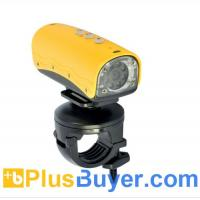 Quality Waterproof Mini HD Sports Camera with 8 White LEDs (720P, Motion Detection) for sale