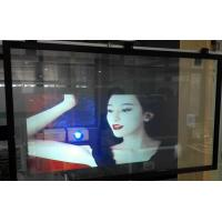 Buy cheap Holographic Projection Foil Transparent Rear Projection Screen Film from wholesalers