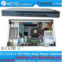 China Wechat marketing WIFI advertising routes AC Management vpn 8 ports firewall with I3 3210 processor on sale