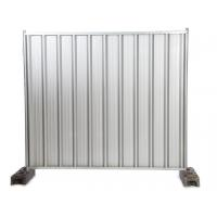 Quality Color Bond Steel Temporary Hoarding for sale