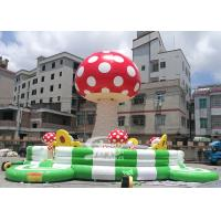 China New Design Inflatable Mushroom Climbing Tower With Safety Belt From China Inflatable Manufacturer on sale