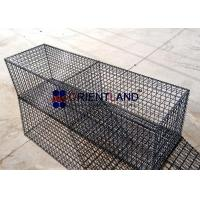 Quality Landscaping Gabion PVC Coated Welded Gabion Wire Mesh Accent Walls Room Dividers for sale