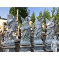 Quality Outdoor garden marble stone statues park marble couple sculptures ,China stone carving Sculpture supplier for sale