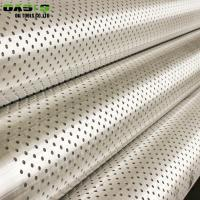 Quality Round Hole Well Casing Screen , BTC Thread End Connection Gravel Pack Screen for sale