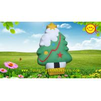 China Oxford Cloth Inflatable Advertising Reinforced PVC Strips Christmas Tree Ornaments on sale