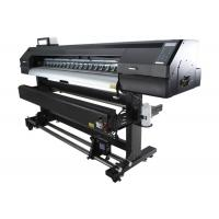 Cheap 1440 DPI Glass Eco Solvent Printer Roll to Roll Professional for sale