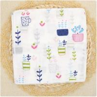 China Breathable Organic Cotton Baby Washcloths , Soft Washcloths For Face on sale