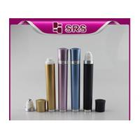 China DR003-10ml luxury refillable vibrating plastic roll on bottle manufacturer on sale