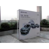 China Velcro Pop Up Display Banner Stand on sale