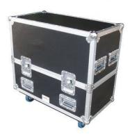 Quality Black Aluminum Flight Case With Wheels And Safe Locks And Strong Handle Size 1200*600*630MM for sale