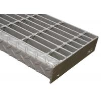 Quality Q235 Carbon Steel Grate Stair Treads Advanced Pressure Welding For Walkway for sale