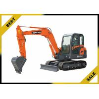 Quality 5760mm Long Reach Excavator 4 Cylinder , 38kw Compact Mini Excavator No Need Crane To Dismantle for sale