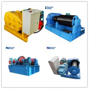 Quality Low Noise 5m/min 25m/min Industrial Electric Winch For Boats for sale
