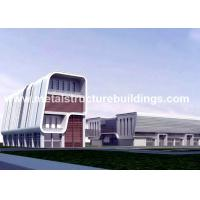 Best Customized Metal Structure Buildings , 60 X 40 Steel Building Saving Material wholesale