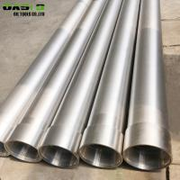 Quality Oil / Water Stainless Steel Casing Tube Round Shape 304 / 316 Steel Material for sale