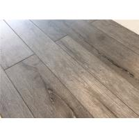 China Home Wood Laminate Flooring with EIR Finish , V Groove Oak Commercial Wood Floors on sale