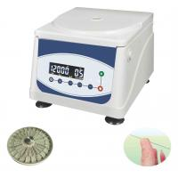 Quality ISO / CE Hematocrit Testing Equipment / Micro Tubes Centrifuge With 24PCS Capacity for sale