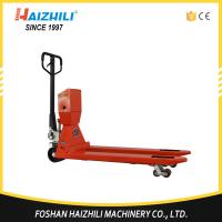 Quality High quality 3000kg hydraulic hand pallet truck scale with 1 year warranty for sale