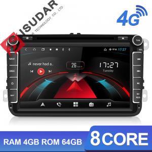 Quality H53 2 Din 4G Camera USB DVR DVD GPS Car Radio Auto Stereo for sale
