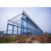 Quality Portal Frame Prefabricated Steel Structure Warehouse Fabrication Engineer Design for sale