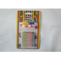 Spiral Magic Relighting Birthday Candles / Funny Trick Candles Paraffin Wax