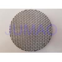 Quality Special Alloy Steel Hastelloy Sintered Filter Disc Made by Woven Wire Mesh for sale