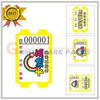 Quality Redemption ticket(170g,mujiang paper) for sale