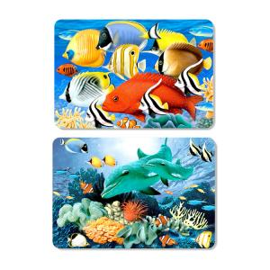 Quality Disney / Cartoon Design Table Mat 3D Lenticular Placemats For Children Gift for sale