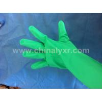 Quality Rubber Yellow Househould Latex Gloves for sale