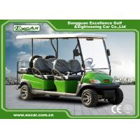 Buy 48V 3.7KW Motor Trojan Battery Powered Golf Buggy / Electric Buggy Car at wholesale prices