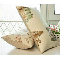China Cotton canvas cushion,magazine style print cushion,rectangle long cushion on sale