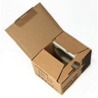 Quality Custom Brown Cardboard Paper Sheets , Shipping Boxes Cardboard for sale