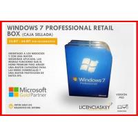 Quality Global Area Microsoft Windows 7 Retail Version , Windows 7 Retail Disk For Laptop for sale