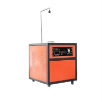 Electric Small Steel Shell Induction Gold Melting Furnace for sale