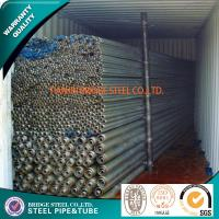 Quality BS 1387 ASTM A53 Structural Steel Tubes SCH160 SCH XXS Beveled / Plain for sale